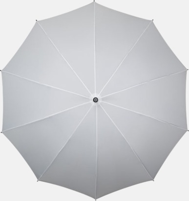 Vit Stora golfparaplyer med eget tryck