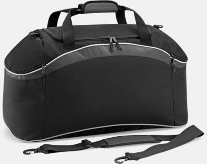 Svart/Graphite Grey/Vit Väskor med reklamtryck