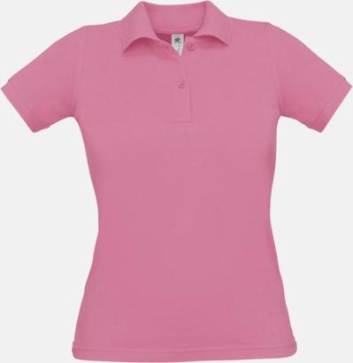 Pixel Pink Pikétröjor med tryck för dam