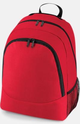 Classic Red Gula, gröna, vita, svarta, röda rosa, blåa Ryggsäckar med reklamtryck