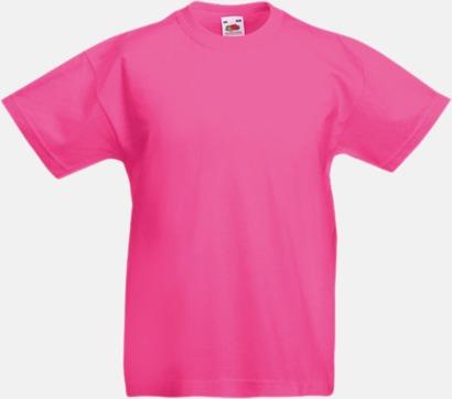Fuchsia T-shirt barn - Valueweigth barn t-shirt
