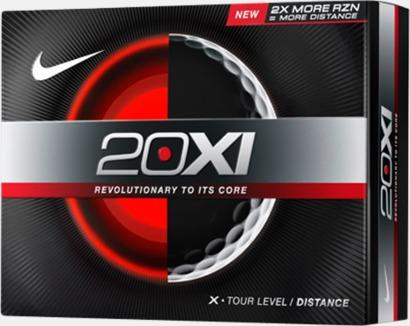 Nike-golfbollar med reklamtryck