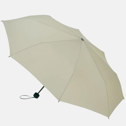 Stone Grey Kompakta paraplyer med eget tryck
