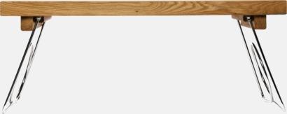 Ljust trä Exklusiv sängbricka i ek från Sagaform