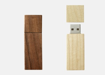 Ekologiska USB-minnen med reklamtryck