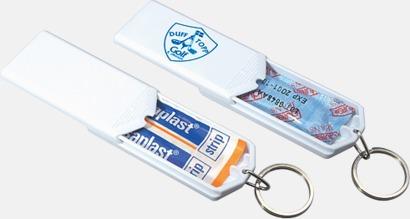 Vit Kondomer i askar med tryck
