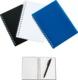 Blå Billiga A6-block med tryck