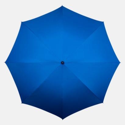 Blå Kompakt Paraplyer - Med tryck