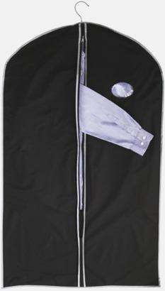 Svart Kostymskydd och -väska med eget tryck