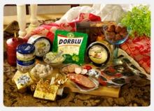 Goda delikatesser i presentförpackning