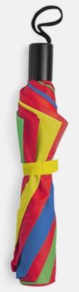 Grön/Blå/Gul/röd Kompaktparaply i många färgalternativ