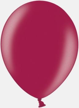 087 Plum Ballonger i unika färger med eget tryck