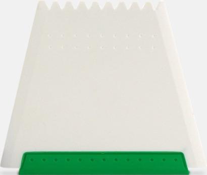 Grön Högkvalitativa isskrapor med fototryck