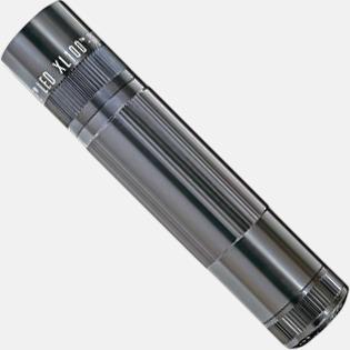 Stålgrå Maglite XL 100 LED med gravyr