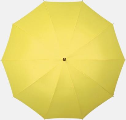 Gul Stora golfparaplyer med eget tryck