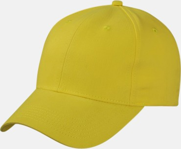 Sun Yellow Trendig keps med egen brodyr eller tryck