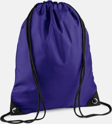Purple Påsar i mängder av färger - Påsar med reklamtryck