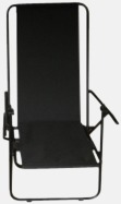 Svart (enkel) Lyxig brassestol med kudde och väska