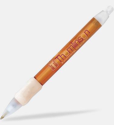 Orange Bic kontorspennor med eget tryck