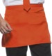 Orange (1655C) Förkläden med eget tryck