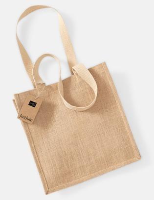 Natur Kompakt shoppingbag i jute
