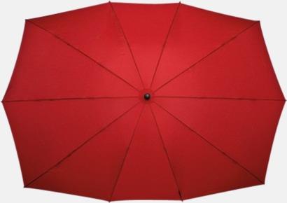 Röd Tvillingparaply med eget tryck
