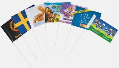 Pappersflaggor med tryck