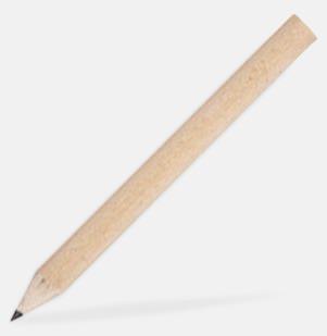 Ljust trä Små blyertspennor med tryck