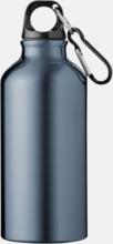 Aluminium sportflaskor på 0,35 liter - med reklamtryck