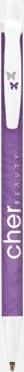 Purple (Digital) Bic kontorspennor med eget tryck