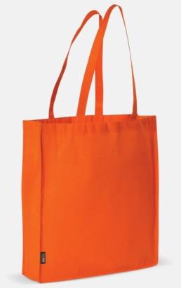 Orange Miljövänlig bärkasse med eget tryck