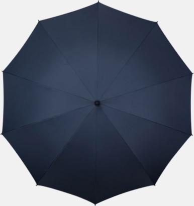 Marinblå Stora golfparaplyer med eget tryck