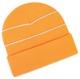 Floucerande Orange Reflexmössor med egen bordyr