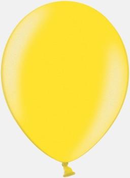 082 Citrus Yellow Ballonger i unika färger med eget tryck