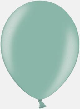063 Green Ballonger i unika färger med eget tryck