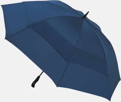 Marinblå Vårt bästa golfparaply med tryck