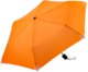 Orange Kompakta paraplyer med eget tryck
