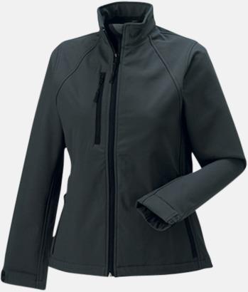 Titanium (solid) Softshell-jackor i dammodell med reklamtryck