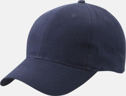 Marinblå Trendig keps med egen brodyr eller tryck