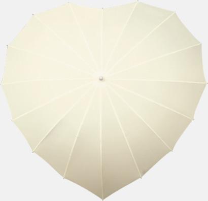 Off-white Hjärtformade paraplyer med eget tryck