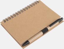 Ekologiskt block med tryck - penna medföljer