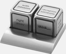 Beslutstärningar med tryck eller gravyr