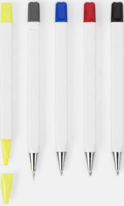 Penset med pennor i olika färger