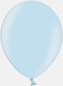073 Light Blue Ballonger i unika färger med eget tryck