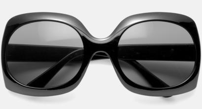 Svart Solglasögon med eget tryck