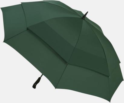 Mörkgrön Vårt bästa golfparaply med tryck