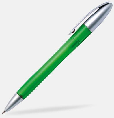 Grön Roger - Reklampennor med tryck