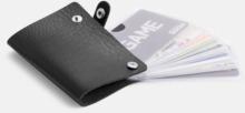 Visitkortsmappar med reklamtryck