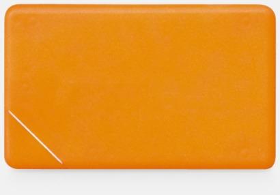 Orange solid Fresh Card med eget tryck