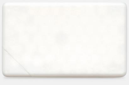 Vit solid Fresh Card med eget tryck
